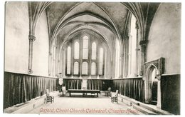 Oxford Christ Church Chatedral , Chapter House # Frith's Series # - Oxford