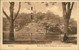 Breslau Wrocław Blick Vom Ohlauer Stadtgraben Auf Die Liebichshöhe 1925  - Schlesien