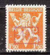 724K**  Lion Héraldique Surchargé -10% - Bonne Valeur - KORTENBERG - MNH** - LOOK!!!! - 1946 -10%