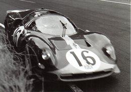 MOTOR RACING - AUTOMOBILISMO - 24 HEURES DU MANS 1966 - FERRARI 365 P2/3 - RICHARD ATTWOOD E DAVID PIPER - N 4/113 - Le Mans