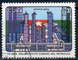 Y85 CUBA 1974 2014 15th Anniversary Of The Cuban Petroleum Institute - Cuba