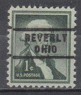 USA Precancel Vorausentwertung Preo, Locals Ohio, Beverly 743 - Vereinigte Staaten