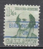 USA Precancel Vorausentwertung Preo, Locals Ohio, Birmingham 841 - Vereinigte Staaten