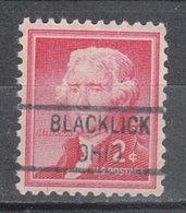 USA Precancel Vorausentwertung Preo, Locals Ohio, Blacklick 821 - Vereinigte Staaten