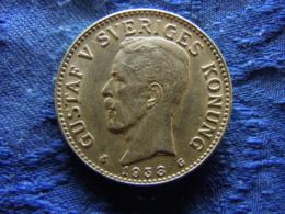 SWEDEN 2 KRONOR 1938, KM787 - Suède