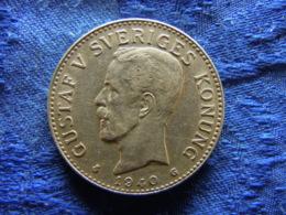 SWEDEN 2 KRONOR 1940, KM787 - Suède