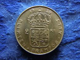 SWEDEN 2 KRONOR 1959, KM827 - Suède