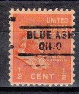 USA Precancel Vorausentwertung Preo, Locals Ohio, Blue Ash 729 - Vereinigte Staaten