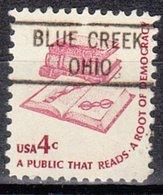 USA Precancel Vorausentwertung Preo, Locals Ohio, Blue Creek 804 - Vereinigte Staaten
