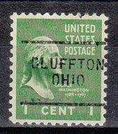 USA Precancel Vorausentwertung Preo, Locals Ohio, Bluffton 703 - Vereinigte Staaten
