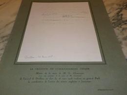 LA CREATION DU COMMANDEMENT UNIQUE DE CLEMENCEAU 1918 - 1914-18