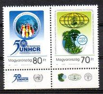 HONGRIE. N°3795-6 De 2001. Haut-Commissariat Des Nations Unies Pour Les Réfugiés. - Refugees