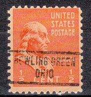 USA Precancel Vorausentwertung Preo, Locals Ohio, Bowling Green 734 - Vereinigte Staaten