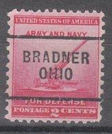 USA Precancel Vorausentwertung Preo, Locals Ohio, Bradner 703 - Vereinigte Staaten