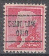 USA Precancel Vorausentwertung Preo, Locals Ohio, Brady Lake 722 - Vereinigte Staaten