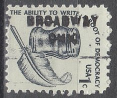 USA Precancel Vorausentwertung Preo, Locals Ohio, Broadway 712 - Vereinigte Staaten