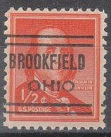 USA Precancel Vorausentwertung Preo, Locals Ohio, Brookfield 632 - Vereinigte Staaten