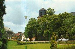 Dept 59,Nord,Cpm Douchy Les Mines,Le Jardin Public - Other Municipalities