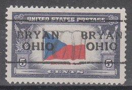 USA Precancel Vorausentwertung Preo, Locals Ohio, Bryan 701 - Vereinigte Staaten