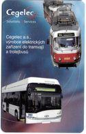 CARTE A PUCE TRANSPORT TCHÉQUIE  AUTOCAR TRAMWAY 500 KC  CEGELEC SOLUTIONS SERVICES - Transportation Tickets