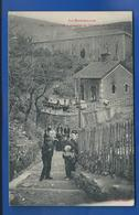CERBERE  Passage Du Tunnel Et Le Lavoir         Animées      écrite En 1917 - Cerbere