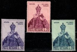 """VATICAN 482/484° Noël 1968 """"L'enfant Jésus De Prague"""" (10% De La Cote + 0,25) - Oblitérés"""