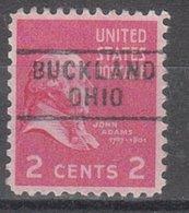 USA Precancel Vorausentwertung Preo, Locals Ohio, Buckland 729 - Vereinigte Staaten