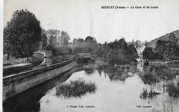 Accolay.La Cure Et Le Canal. - Altri Comuni
