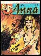 """ANNA - N° 8: Le Plus Grand Prix"" - 3 Ième Année - Editions EDILAU - 1980. - Erotic (Adult)"