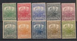 Newfoundland - 1919 - 10 Valeurs Entre N°Yv. 100 Et 111 (série Complète Sauf 102 Et 103) - Neuf * / MH VF - 1908-1947