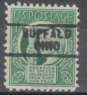 USA Precancel Vorausentwertung Preo, Locals Ohio, Buffalo 729 - Vereinigte Staaten