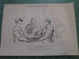 Cercle De Soldats Pour Les Permissionnaires Des Régions Envahies - Gravure De Mme A. Teyssonnière De Gramont - 1914-18
