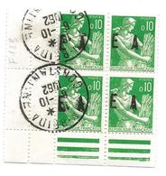 ETAT ALGERIEN Surcharge  E A  4 JUILLET 1962:/23 Janvier 1963 CONSTANTINE   4  31 ,X 4 - Algerien (1962-...)