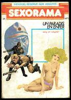 """""""SEXORAMA - N° 1: Un Paradis En Enfer"""" - 1 Ière Année - Editions CAMPUS - 1979. - Erotic (Adult)"""