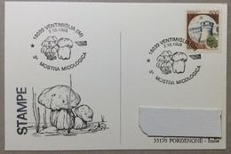 1995 VENTIMIGLIA 3^ MOSTRA MICOLOGICA / Pilze / Muschroom - Manifestazioni