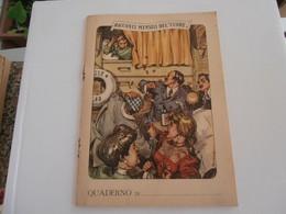 """QUADERNO - Racconti Mensili Del """"Cuore"""" - De Amicis - Il Piccolo Patriotra Padovano - Storia, Filosofia E Geografia"""