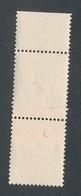 DI-328A: FRANCE: Lot Avec Impression Sur Raccord (timbres Imprimés à Sec) - Variedades Y Curiosidades