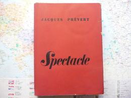 Jacques Prévert Spectacle Editions Nrf 1951 - Theatre