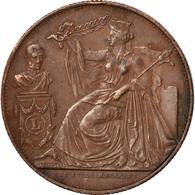 Belgique, Médaille, Léopold Ier, 25ème Anniversaire De L'Inauguration Du Roi - Belgium