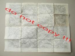 KALUSZ Und HALICZ Galizien Map 1:75.000 / Geripp:F. Noltz - Nach Zeichenschlüssel 1894 ( 1914 ) - Mapas Topográficas