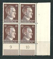 Adolf Hitler  MiNr. 787 ** Bogenecke (0509) - Neufs