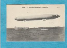 Le Dirigeable Allemand '' Zeppelin '' - Dirigeables