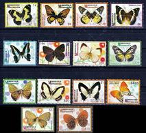 Micronesia 2006 Butterflies Set Of 14v MNH - Papillons
