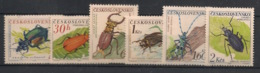 Ceskoslovensko - 1962 - N°Yv. 1245 à 1250 - Insectes - Neuf Luxe ** / MNH / Postfrisch - Insectes