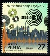 Serbia, 2020, 50th Anniversary Of Radio Studio B, Set, MNH, Mi# - Serbie