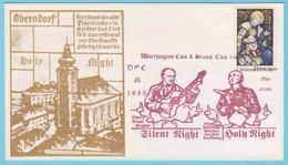 J.M. 40 - Etats Unis - FDC -  N° 54 - Compositeur - Gruber - Mohr - Noël - Chant - La Nuit - Religion - Musique