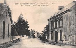 ¤¤    -  MOISDON-la-RIVIERE   -   Arrivée Par La Route DeLa Meilleray   -   La Poste    -  ¤¤ - Moisdon La Riviere