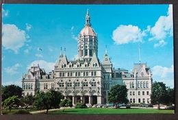 Hartford The State Capitol/ Old Cars - Hartford