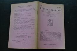 L' INTERMEDIAIRE DES GENEALOGISTES N°39 1952 Généalogie Héraldique D'ABCOUDE GAESBEEK Pachéco Wangenies DE BAUW Ordre - Histoire