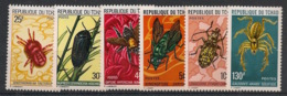 Tchad - 1974 - N°Yv. 291 à 296 - Insectes - Neuf Luxe ** / MNH / Postfrisch - Insectes